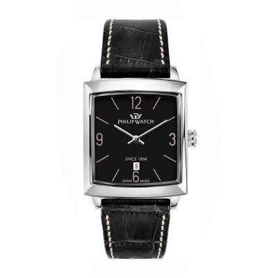 Orologio Philip watch newport nero PHILIP WATCH